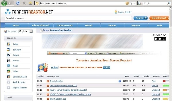 10 Best Alternatives to Torrent Reactor