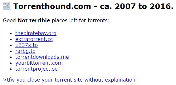 torrenthound-website